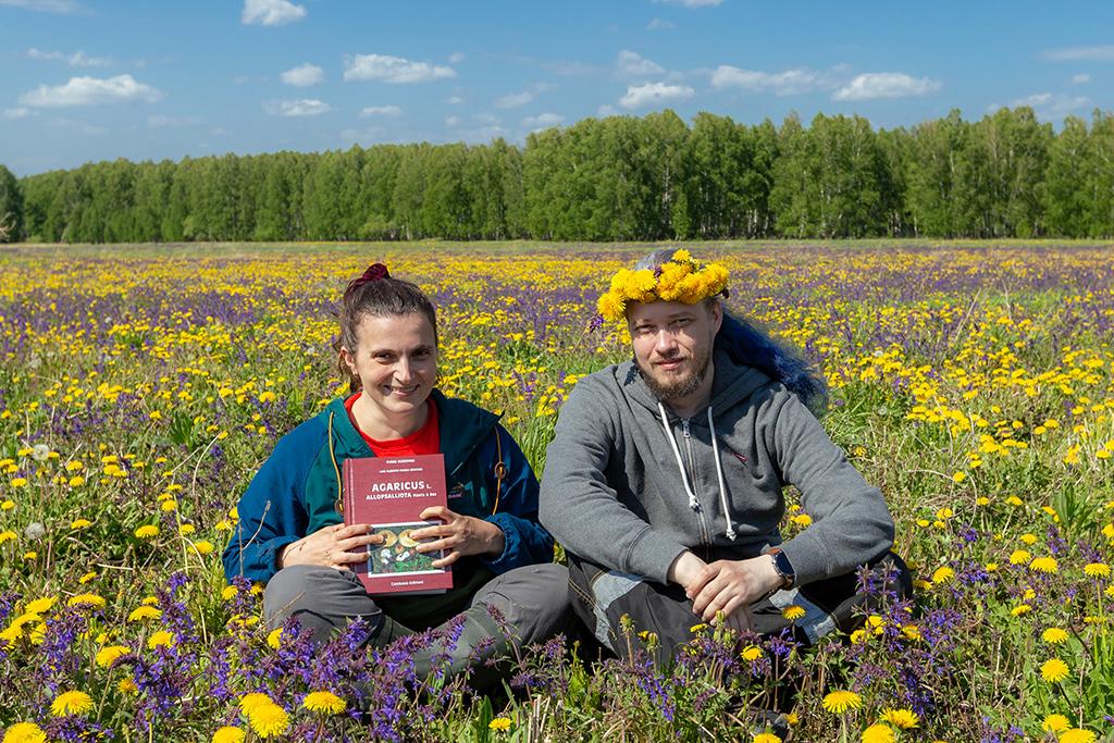 Tatiana Bulyonkova and Dmitriy Ageev